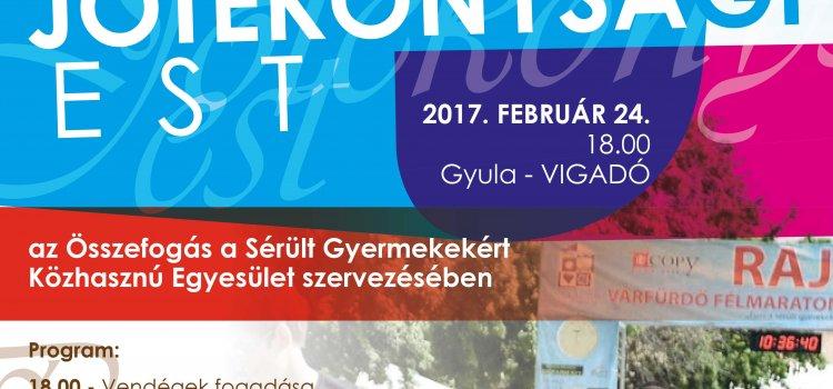Jótékonysági est – Gyula
