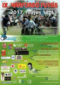 IX. Várfürdő maraton plakát