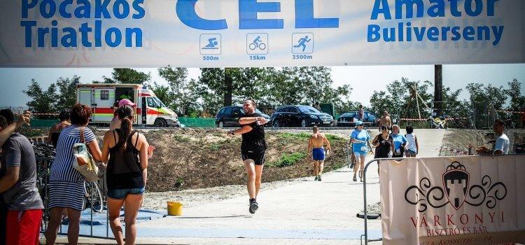 Pocakos triatlon 2017