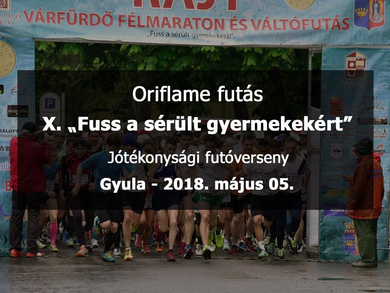 Oriflame futás